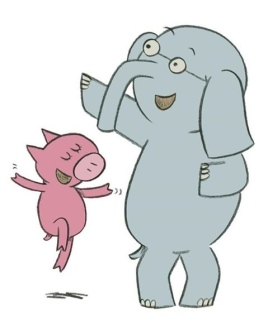 elephant and piggy