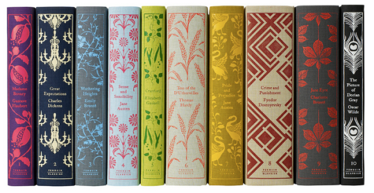 Beautiful book spines