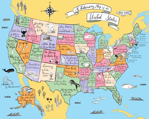 Reading Road Trip Across the US | The Reader's Room