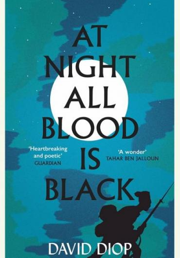 40. David Diop - At Night All Blood Is Black cover
